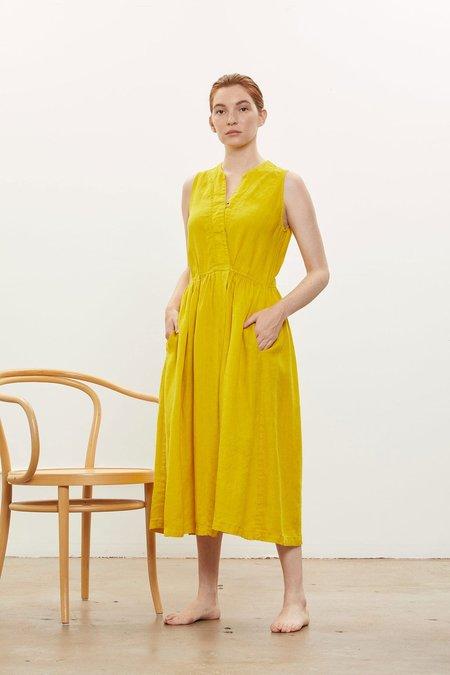 Classy Tank Dress - Mustard