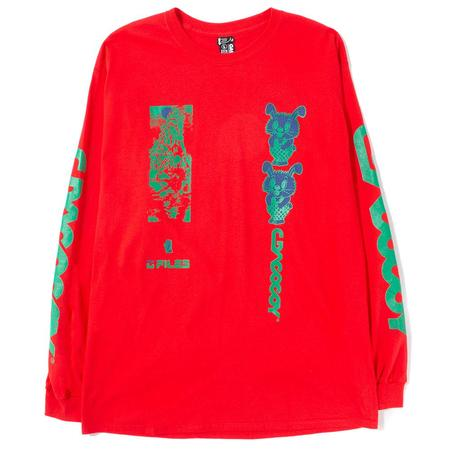 Gasius All Over Jehovah Long Sleeve T-shirt - Red