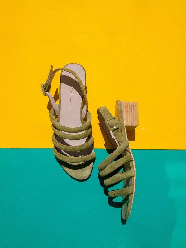 """INTENTIONALLY __________."" Helda Sandal"