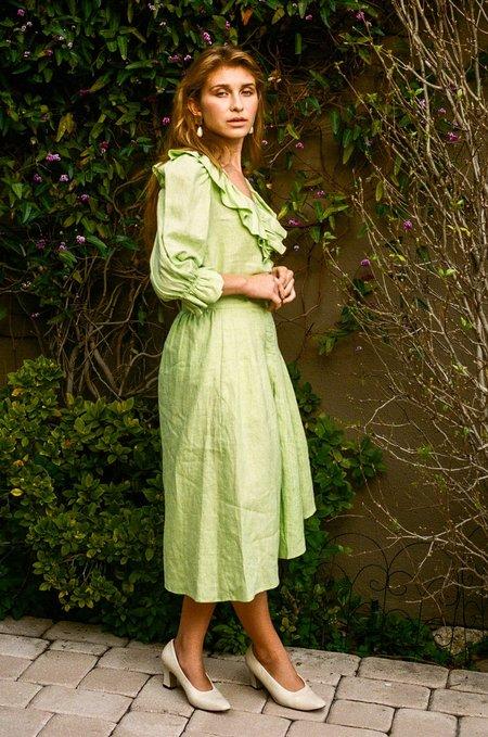 Kristinit Viridescent Skirt - Jade