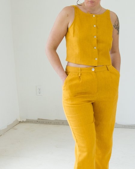 Paloma Wool Colombine Top - Ochre
