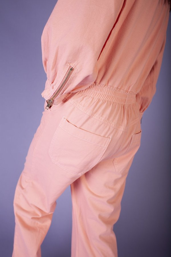 L.F.Markey Dante Boilersuit - Peach
