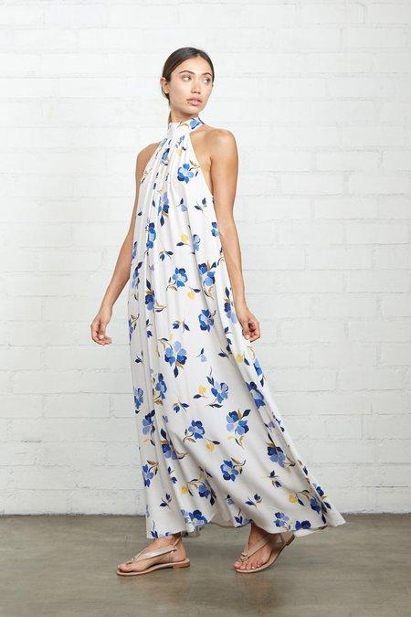 Rachel Pally Crepe Lotus Dress - Pansy