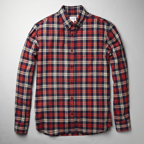 CORRIDOR RED FLANNEL SHIRT