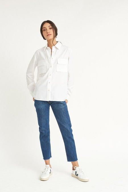 WYLDE Arielle Shirt - WHITE