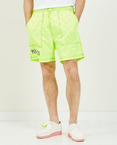 PLEASURES BPM Shorts - Neon Green