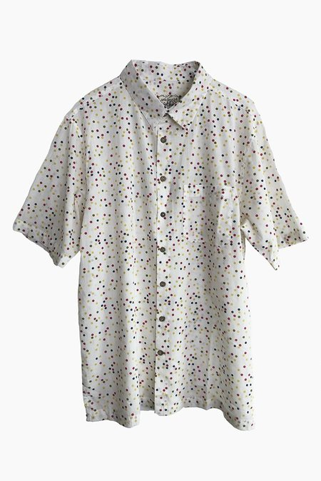 ONE WORLD BROTHERS Relaxed Fit Short Sleeve Shirt - Confetti