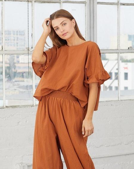 Cleobella ALYSSA TOP - Brown