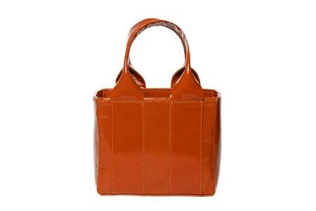 Clyde Snack Bag - Caramel Patent