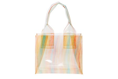 Clyde Silk Chiffon Snack Bag - Orange Vinyl