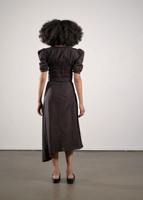 Maria Stanley Caroline Blouse - noir