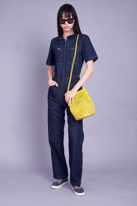 L.F.Markey Danny Boilersuit - Indigo