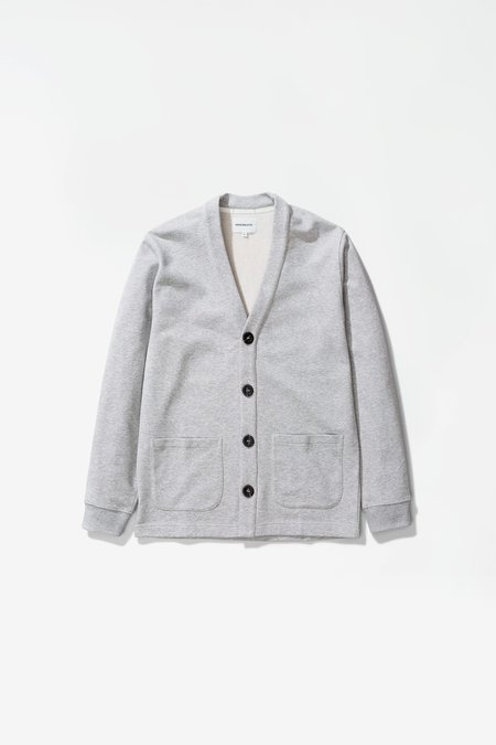Norse Projects Vidar sweat cardigan - light grey