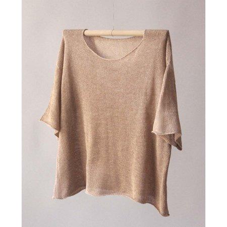 Nido T Shirt Lino - Beige