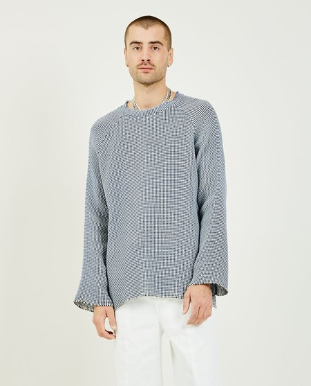 THE MUSEUM VISITOR Wide Knit - Navy