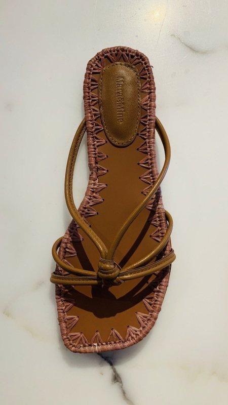 Mara & Mine Azeline Flat Sandal - Terracotta