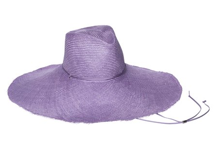 Clyde Poppy Hat - Lilac