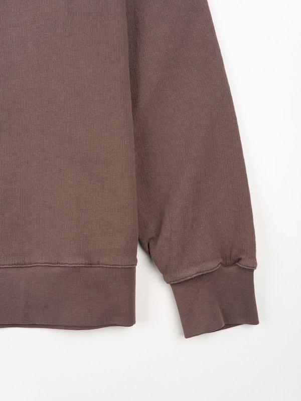 Universal Works Classic Crew Sweatshirt Dry Handle Loopback - Raisin