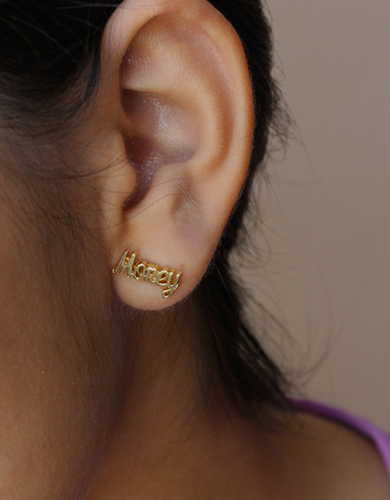 Bing Bang Young Money Earrings