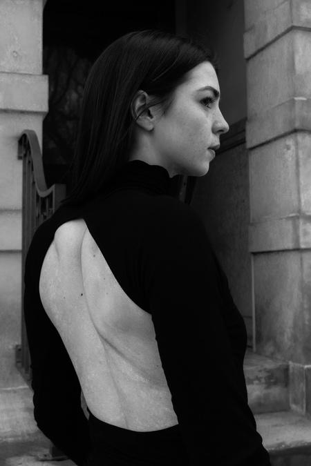 Line by K Margaux Top - Black