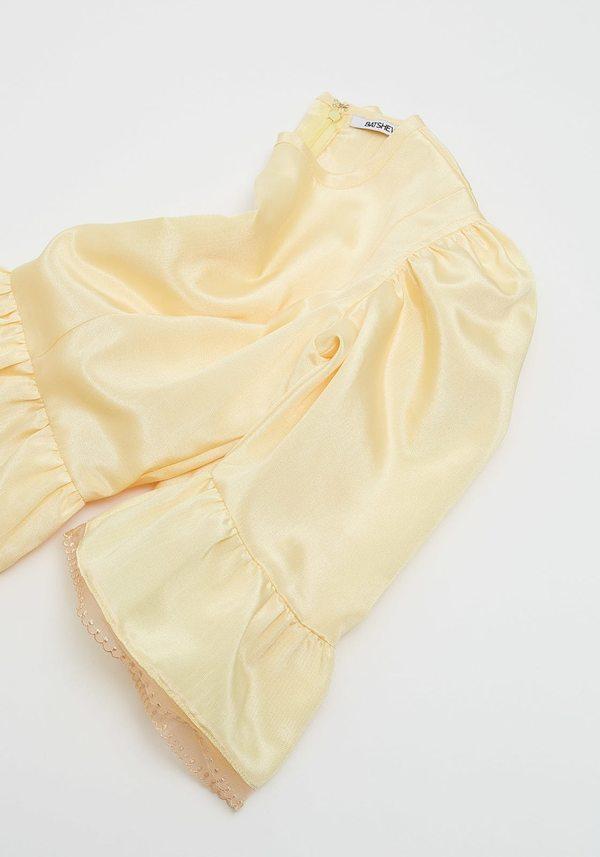 BATSHEVA Collarless Kate Dress