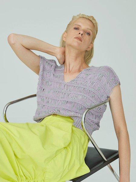 Atelier Delphine Capri Knitted Top - Lavender
