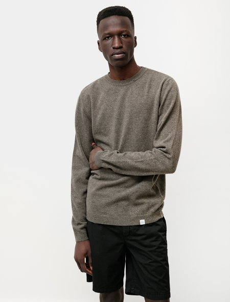 Norse Projects Sigfred Light Wool - Ivy Green