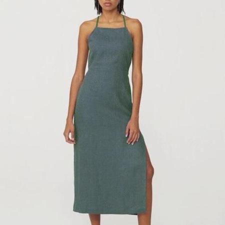 Paloma Wool Carlota Dress - Forest Green