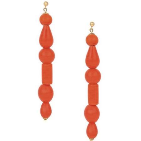 Paloma Wool Lori Earrings - Red