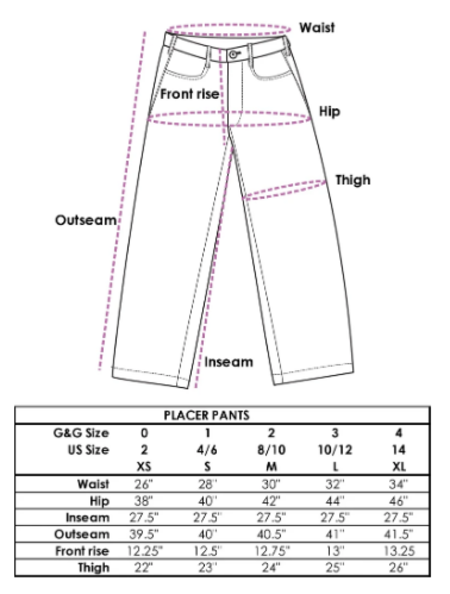 Gravel & Gold Placer Pant - Natural