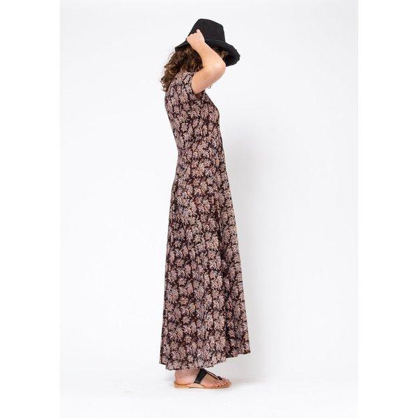 Matta NY Kheera Kalamkari Dress - Thistle