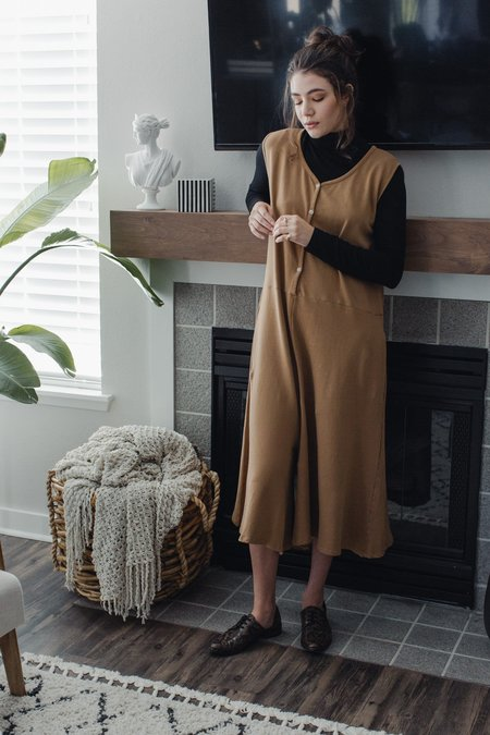 Revisited Freya Jumpsuit - Clay