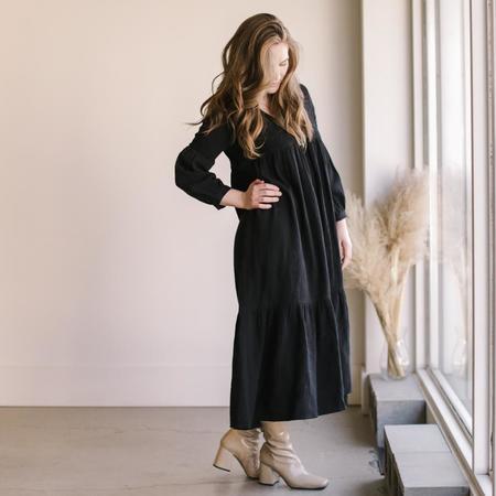 Rachel Pally Cecelia Dress - Black Gauze