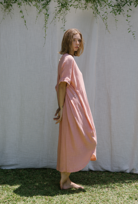 at Dawn. Cotton Relax Long Dress