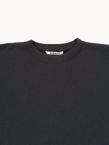 Auralee Super High Gauge Sweat Big P/O - Ink Black