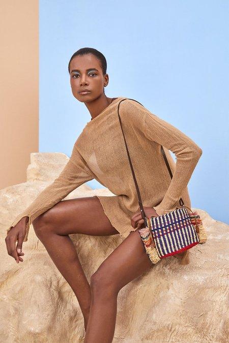 AAKS Hana Mini Stripe Shoulder Bag