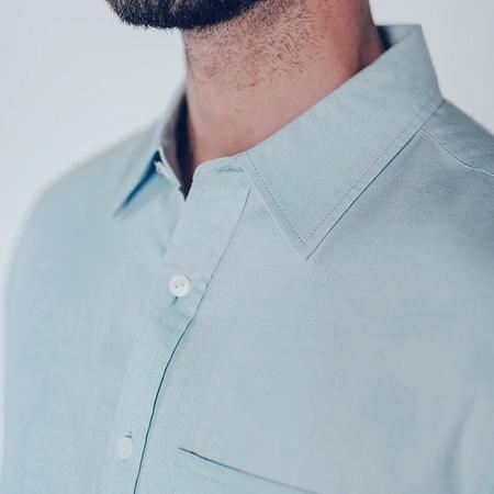 The Normal Brand Jasper Button Down - Blue