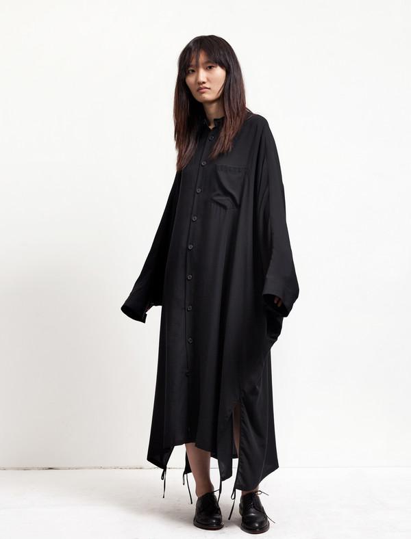 337fc2153895 Ys by Yohji Yamamoto Womens Dolman Sleeve Shirtdress. sold out. Y's by Yohji  Yamamoto
