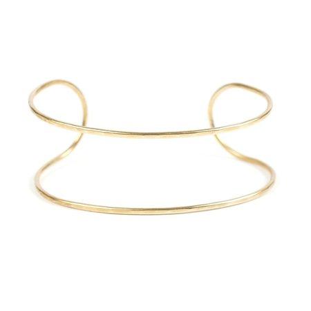 Essie Day Cuff Double - Brass