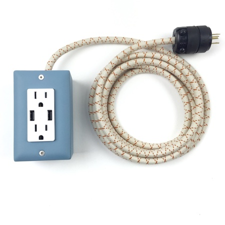 Conway Electric EXTO SMART USB Extension Cord