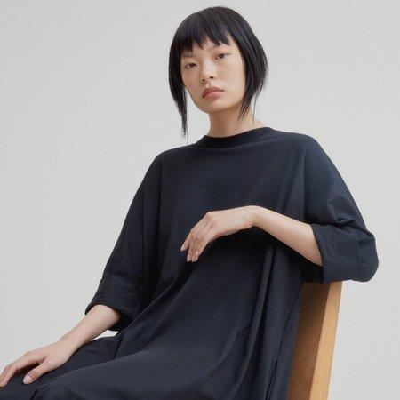 Kowtow Building Block Oversized Boxy Dress - Black