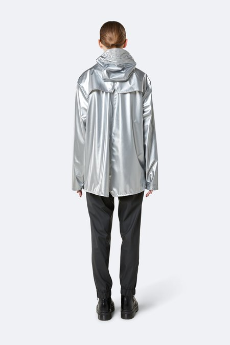 Unisex Rains Jacket - Silver
