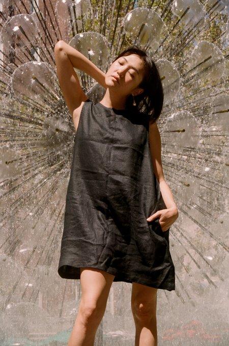 Mimi Holvast Pinafore - Black