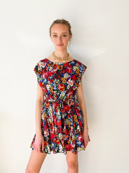 [Pre-loved] Alice & Olivia Floral Mini Dress