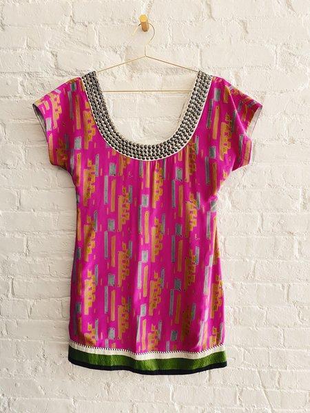 Pre-loved Anupamaa Printed S Dress - Pink
