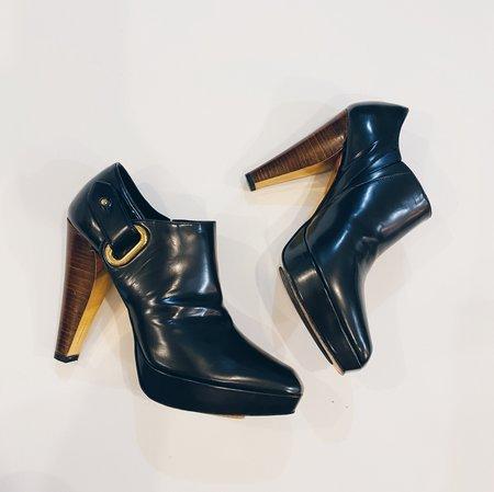 Pre-loved Barbara Bui Platform Ankle Boots - Black