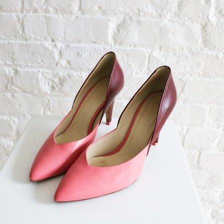 Pre-loved Bimba Y Lola Colorblock Pumps - Pink