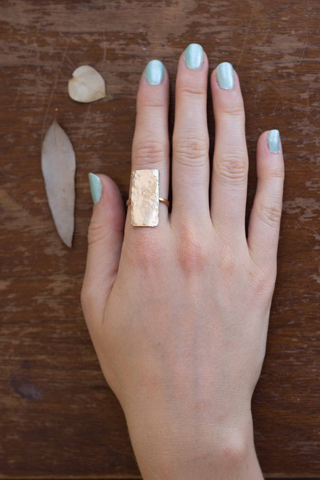 Ilsa Loves Rick Rectangle Ring