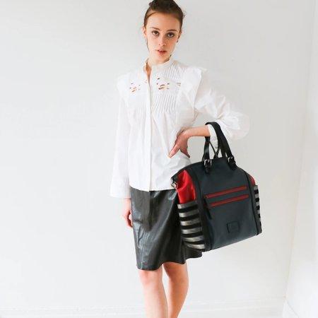 Pre-loved Chloé Leather Pencil Skirt