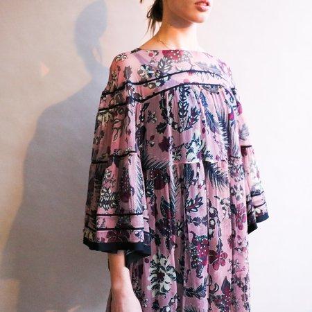 Pre-loved Chloé Silk RESORT 20 Dress - violet